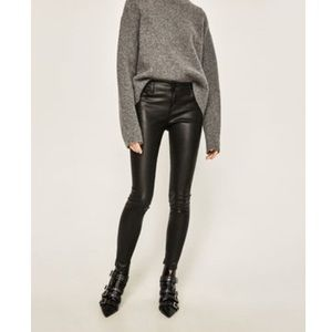 Zara Low Rise Black Jean